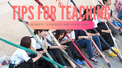 Read more about the article Tips For Teaching Japanese Teenagers And Young Adults by Lina Gordyshevskaya